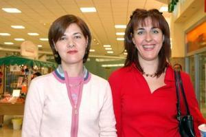 Marcela y María Teresa Buendía.