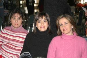 Irene Motola, Marilú Portilla y Pilar Campuzano