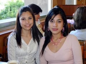 Karen Paulina Rodriguez y Patricia Ramírez.