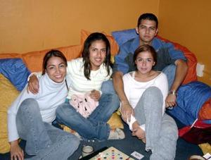 Ale Frias, Araceli Rodríguez, Mario Serna y Ale Guangorena.