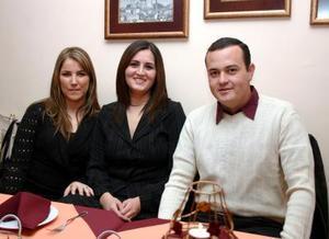 Ale Zarra, Farra Nahle, Fernando Villarreal.
