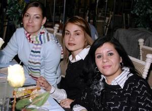 Cecilia Braña, Rafela Verano e Ivone Sarraf .