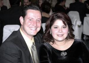 Aurelio Barraza y Karla López.