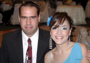 Carlos Padilla y Mary José Escobedo.