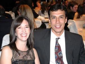 Elsa Duarte y Jesús Campa