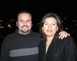 Jesús Morenoy Ofelia Contreras.