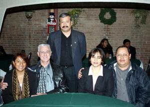 Jorge Aldama, Veronica de Aldama, William S. Sorke, Carmelinda Castillo, German de la Cruz.