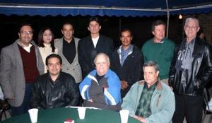 Raúl Ricalde, Sergio Aguirre, Alejandro Luna, Roberto Díaz, Brenda Favila, Héctor Téllez, Miguel Angel Quiroz, Víctor Rubén García y Alejandro Ruíz.