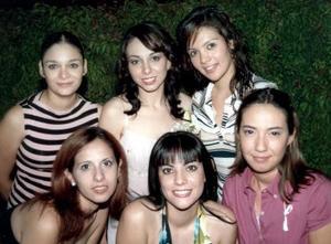 Ana Cecilia Ruiz Moreno, Carmen Villarreal, Monse Carrillo, Daniela López, Brenda Montañez, Angélica Ruiz