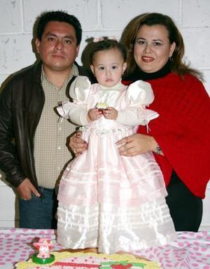 Ana Valeria Salcedo Ayala disfrutó de una fiesta infantil con motivo de su segundo cumpleaños  organizada por sus papás.