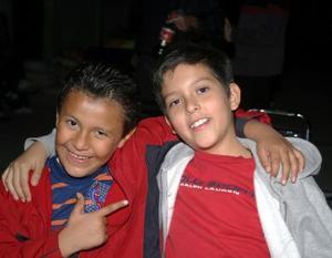 Sebastián González y Enrique Jaime Barrera.