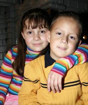 María Fernanda y Andrés Ochoa Rendón.