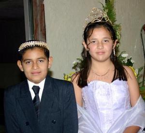 Salvador Sepúlveda y Wendy Ruelas