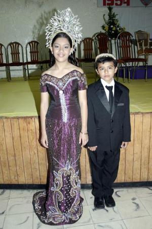 Samantha Sujo y Arturo García.