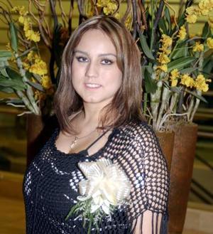 Rocío Sánchez Moreno contraerá nupcias con el señor Alajandro Parras Favela.