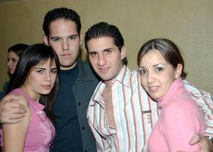 Ana Chávez, Abraham Batarse, Enrique Albéniz y Margarita de Albéniz .