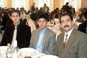 Alejandro Fernández, Andrés y Manuel Fernández