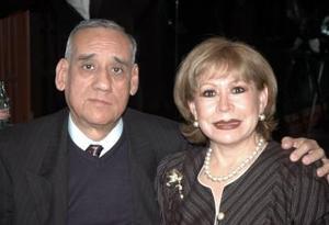 Guillermo Ortiz y Elba Garza de Ortiz