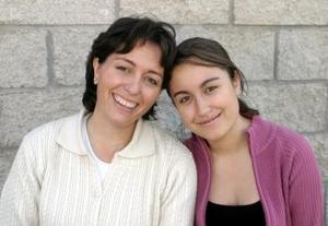 Rossana Conté e Isabel Ordóñez