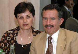 <b>15 de diciembre de 2004</b> <p> Sebastián Parra y Luisa Trujillo de Parra