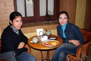 Diana Ivonne Zúñiga Hernández y Norma Elena Ibarra Briones