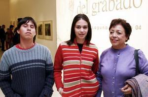 Juan Manuel Estrada, Leticia Estrada y Fernanda Estrada