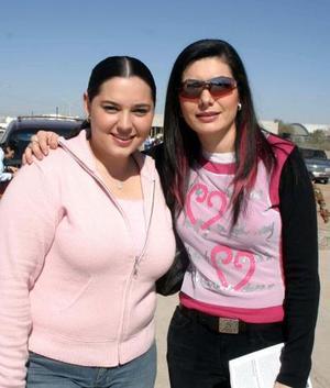 Claudia de Olmos y Toni Russek