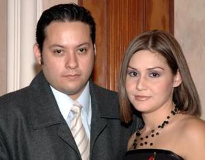 Alonso Mascorro y Karina Santibañez Meraz