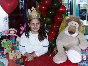 Pilar Gutiérrez Sáenz festejó su séptimo cumpleaños recientemente.