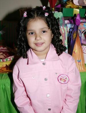 Andrea Nava Núñez, captada el día de su piñata.