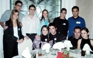 Alejandro Díez, Marifer Núñez, Paulina Giacomán, Domingo Tueme, Francisco López, Katy Díaz, Lucía Sáenz, Iván Ortiz, Alfonso Campa y Daniela Rubio