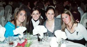 Bárbara, María, Neni y Romi.