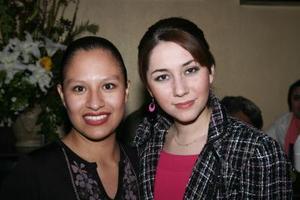 Beatriz Jáquez y Thais  M. Prieto.