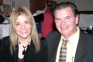 Alicia Morales y Alejandro González Lamb..