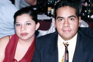 Alonso Machado Calzada y Wendy Haydeé Rodríguez de León.