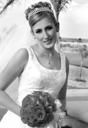Lic. Eréndira Meraz Magaña, el día de su boda con el Lic. José Alfonso Villa de Alba