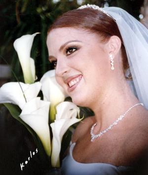 Srita Karla Sánchez Stelzer contrajo matrimonio con el Lic Lázaro Peña Ruiz.