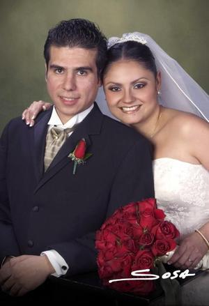 Sr. Daniel Villavicencio Rodríguez y Srita. Elsa Virginia Bustamante contrajeron nupcias el día 12 de noviembre de 2004.