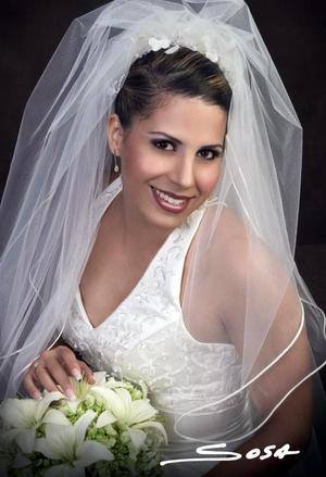 Srita. América Rangel unió su vida a la del Sr. Víctor Manuel Estrada.