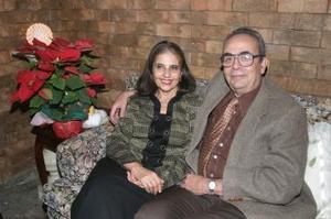 Aureliano Gallegos y María Estela del Bosque de Gallegos