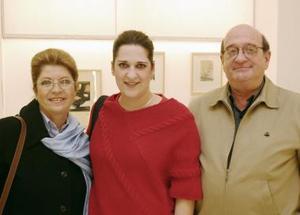 Ruth Glancz, Sandra Gancz y José Gancz.