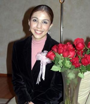 Marisol Medina Ramírez disfrutó de una última depesida de soltera.