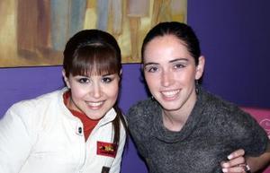 Alejandra Cabrera y Marcela Oviedo.
