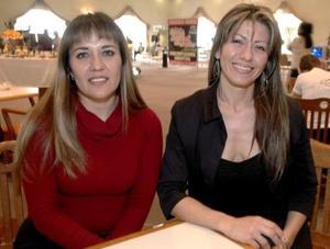 Pina Martínez y Verónica Martínez.