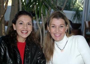 Sandra Ríos y Lorena Blázquez.