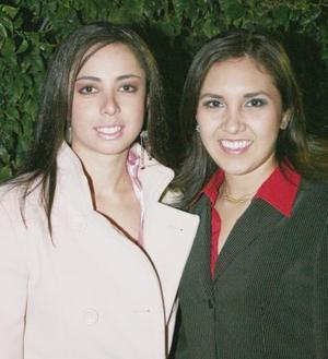 Daniela Hernández y Astrid Nava.