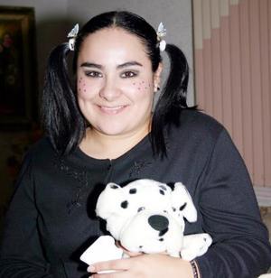 Gabriela del Carmen García celebró su cumpleaños con una fiesta de disfraces.