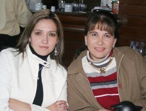 <b>20 de diciembre de 2004</b> <p> Pilar Abusaid y Sandra González