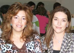 Gina González e Irene Duarte.