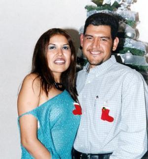 Gloria Ríos Sifuentes y Juan Carlos Meraz captados en posada